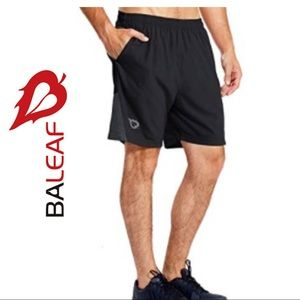 2/$20 🛍️ Baleaf Men's Quick Dry Running Shorts